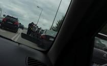 Stłuczka kilku aut na Kowalach