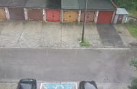 Silna ulewa nad Gdynia