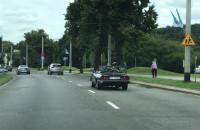 Wiózł rower w kabriolecie