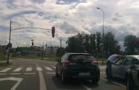 Kłótnia kierowców na drodze