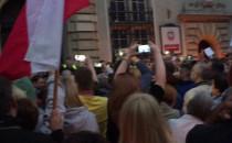Protest pod sądem