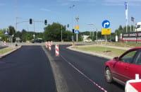 Gotowa ulica Budowlanych w rejonie Matarni