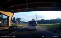 Wypadek na obwodnicy na wysokości Osowej w...