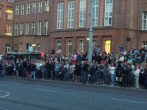 Tłumy ludzi na proteście w obronie Sądu Najwyższego