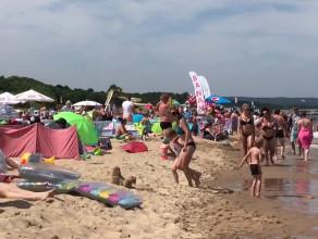 Plażing i parawaning na trasie Sopot - Gdańsk