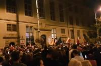 Skiba i protest przeciw ustawie o Sądzie Najwyższym