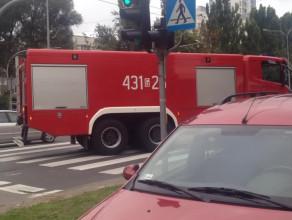 Skutki stłuczki na al. Zwycięstwa w Gdyni