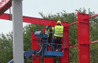 Budowa przystanku PKM w Karwinach