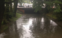 Stan wody w Kanale Raduni w centrum Gdańska.