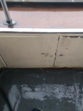 Deszcz w tramwaju
