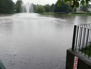 Zbiornik w Oliwie przy al. Grunwaldzkiej