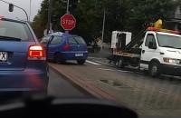 Wypadek skrzyżowanie ul. Legionów z Redłowską w Gdyni