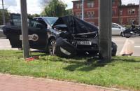 Wypadek w centrum Gdańska - Podwale Grodzkie