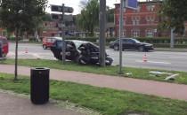 Skutki wypadku na Podwalu Grodzkim