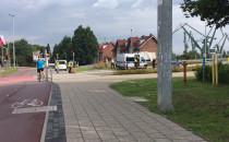 Potrącenie rowerzysty przy pl. Zebrań...