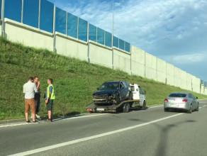 Skutki wypadku na wjeździe na WZ