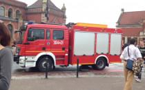 Dokąd pędzą strażacy?
