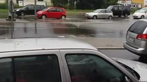 Potok na Małomiejskiej w Gdańsku