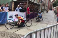Wyścig wózkarzy w 24. Biegu św. Dominika