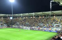 Radość po 2. golu dla Arki w meczu ze Śląskiem