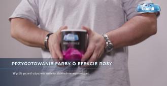 Farba o efekcie rosy - Francesco GUARDI Collezione