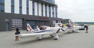 AeroBaltic - park maszyn na gdyńskim lotnisku