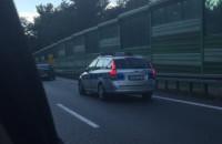 Wypadek na obwodnicy w stronę Chyloni