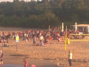 Niebezpieczna sytuacja na plaży w Brzeźnie