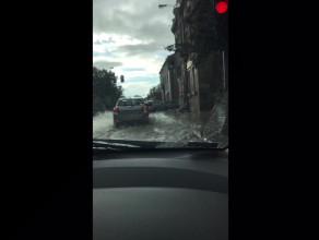 Potok na ulicy Małomiejskiej