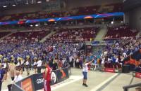Kibice Estonii podczas siatkarskich mistrzostw Europy