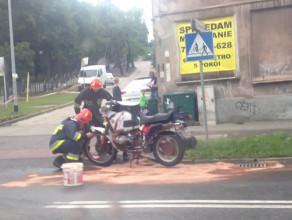Skutki wypadku motocyklisty