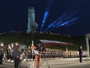 Obchody 78. Rocznicy Wybuchu II wojny św. na Westerplatte