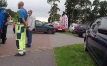 Wypadek na wyjeździe z Gdyni