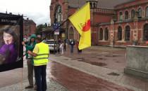 Pikieta obronców życia w centrum Gdańska