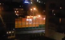 Nocny przejazd rolkarzy przez Hynka we...