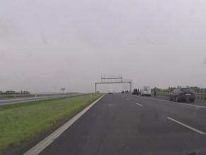 Zderzenie 6 aut na autostradzie