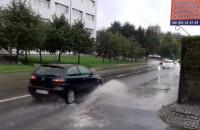 Biada pieszym na ul. Sobieskiego we Wrzeszczu