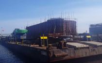 Budowa nowego mostu na Wyspie...