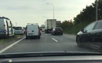 Stłuczka czterech aut na Armii Krajowej