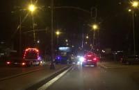 Wypadek na Kartuskiej na wys. Stacji Lotos