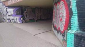 Alkoholowy tunel w centrum Gdańska