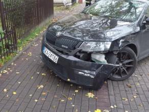 Wypadek na ul. Kopernika w Gdyni