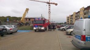 Interwencja straży, policji i pogotowia