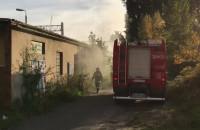 Letnica: strażacy gaszą niewielki pożar