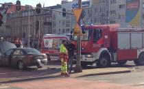 Strażacy udrożnili skrzyżowanie