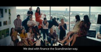 We are Arla GSS. We work in Scandinavian way.