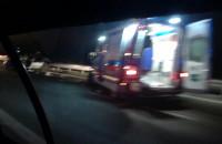 Wypadek na obwodnicy koło Szadółek