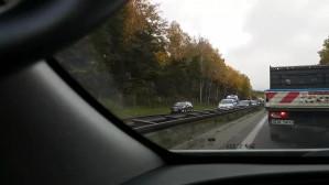 Wypadek na obwodnicy w kierunku Gdyni