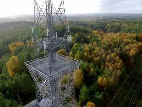 """Wieża widokowo - telekomunikacyjna """"Wzgórze Donas"""""""