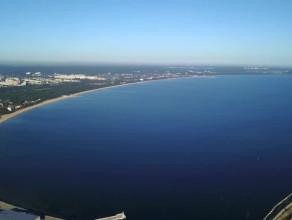 Gdańsk widziany od morza
